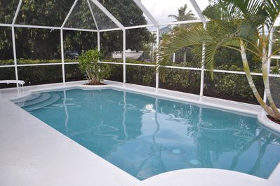 Backyard Oasis - relax in the heated pool