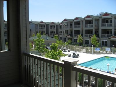 Photo for Gorgeous 4 BR/3.5 Bath Townhome with Pool - Sleeps 10!