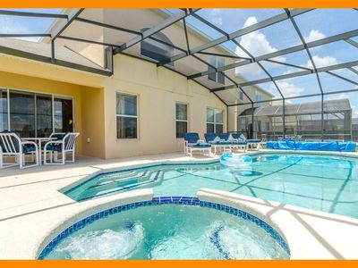 Photo for Emerald 75 - villa with private pool, game room & themed bedrooms near Disney