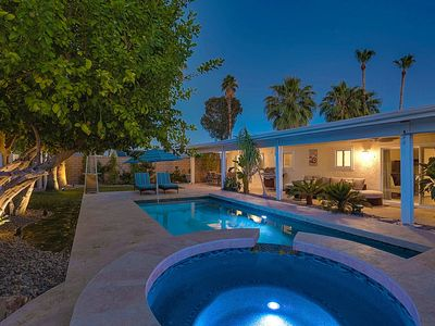 Photo for A private and sunny Pool Home Palm Desert getaway!