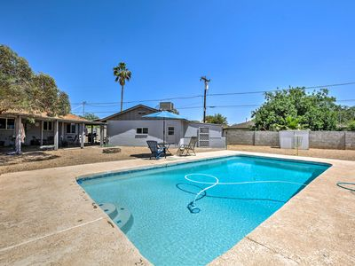 Photo for NEW! Phoenix Guesthouse w/ Pool, Grill & Patio!