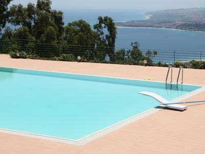 Photo for Villa with stunning sea view