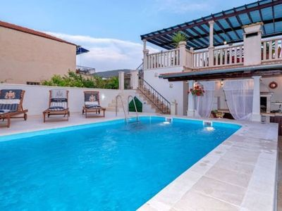 Photo for Radovani luxury apartment with private pool