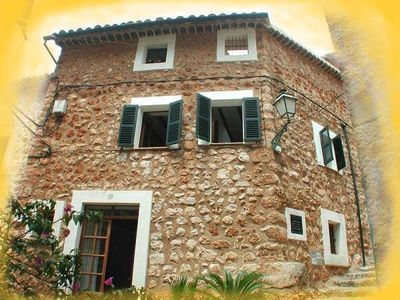 Photo for Old restored farmhouse in the beautiful village of Fornalutx