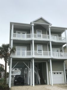 Photo for Canal Front; 5 Bed/ 5 Bath home w/ private dock and private pool; Sleeps 18+