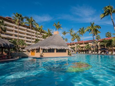 Photo for Casa De Mariachis Marina Sol! Views of the Largest Heated Pool in Cabo! Steps to Town & the Beach!