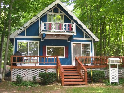 Photo for Come and stay at The Blue Chalet!