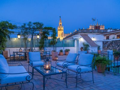 Photo for Stunning duplex for 8 people with amazing terrace and views of the Cathedral