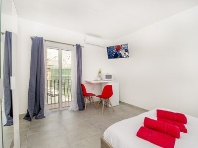 Photo for Sliema, Fantastic & modern studio, private balcony & great vibes!
