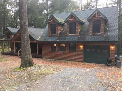 Photo for Beautiful Large Log Cabin in the Southern Adirondacks