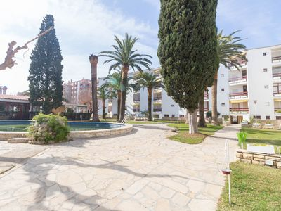 Photo for 4 pax apartment with communal pool in Playa Llevant, Salou.