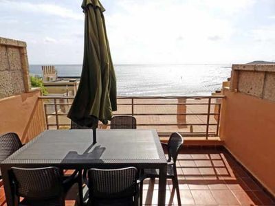 Photo for Barlovento apartment with terrace and sea views in El Medano