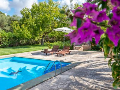 Photo for Charming little finca for 2 people with a large pool and romantic garden