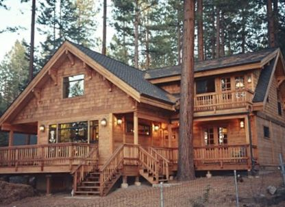 2 800 square foot cabin open floor plan wood throughout for Cabin rentals in nevada