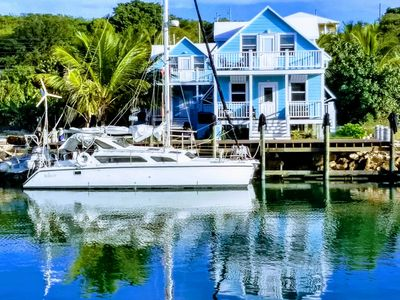 Brand NEW Rental Cottage with DOCK on the canal in Pelican Bay