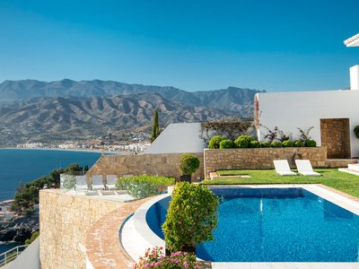 Photo for Absolutely stunning 7 bedroom villa with wow factor!