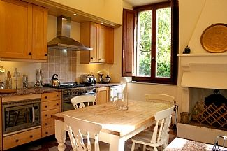 Fully equipped kitchen dining room