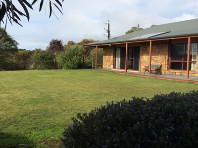 Photo for Bee's Place 3 Bedroom home on 10 acres of land with distant sea views of Emu Bay