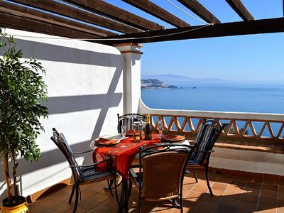 Photo for Apartment with fabulous sea views over the Marina Del Este and Almunecar bay