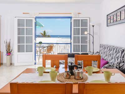 Photo for Charming Apartment Close to Beach with Balcony, Wi-Fi & Mountain View