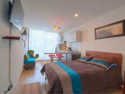 Photo for Apartment in Bogotá with Internet, Lift, Terrace, Balcony (676706)