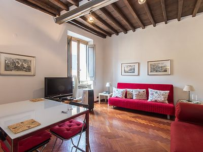 Photo for Apartment Piazza Navona Charming  in Rome: Historical City Center, Lazio - 6 persons, 2 bedrooms