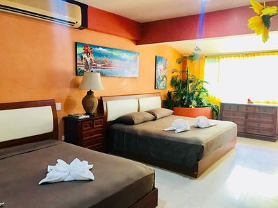 Photo for Triple Suite with Jacuzzi B&B Dolce Vita Caribe Golf