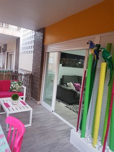 Photo for Spectacular beach apartment of Guardamar 1 line ....