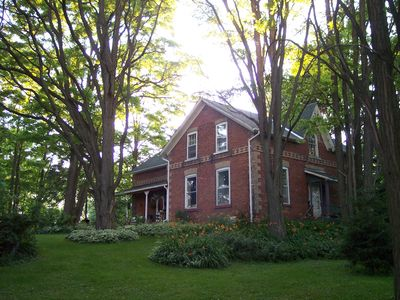 Photo for Rustic 150 Year Old Heritage Farmhouse Only 45 Minutes From Toronto