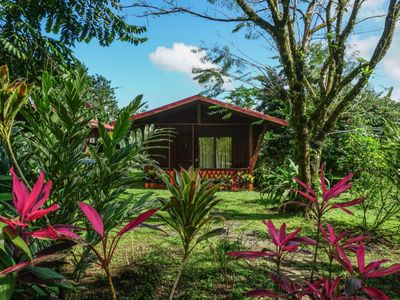 Photo for Nature Lodge, Breakfast included, panoramic views of Arenal Volcano on site, HAF