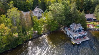 Photo for Stunning Lake of Bays cottage with a view of Bigwin Island & perfect for your family retreat!