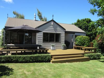 Photo for Clarke Cottage - sunny, warm and family friendly