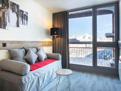 Photo for Apartment Les Arcs 2000, studio flat, 5 persons