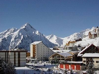 Photo for Two Bedroom Apartment 50 Metres from the Slopes with Stunning Alpine Views