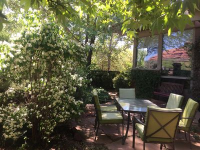 Magical Architectural Gem in Sedona Garden Oasis, Monthly Summer Availability!