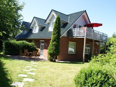 Photo for Haus-am-Haff, Habernis idyllically situated on the Geltinger bay, Baltic Sea beach