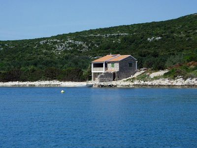 Photo for Secluded fisherman's cottage Cove Soline (Pašman) (K-499)