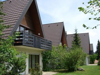 Photo for Home with sun terrace and private entry in holiday complex in S. Black Forest
