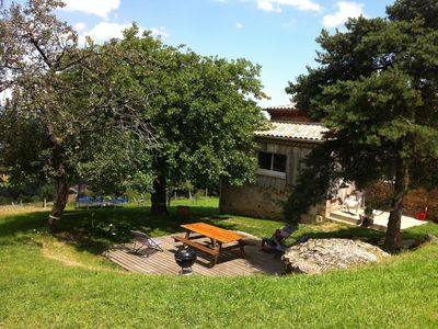 Photo for Cottage in Green Ardeche at the foot of the Natural Park PILAT for 5-10 pers