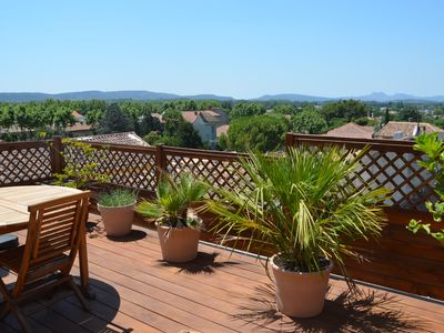 Photo for Gite DURANCE with panoramic terrace for 4 people .3 nights minimum.