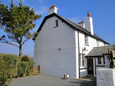 End of terrace Coastguard Cottage, ample parking