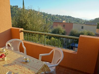 Photo for Apartment in Le Lavandou with Parking, Internet, Pool, Balcony (114649)