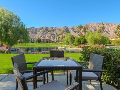 Photo for Views of Mountains/Lake/Pool at PGA West Palmer Residence Newly Remodeled Throughout 3 Bedroom Condo