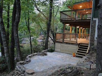 Photo for Treetop Treasure  Nestled Into The Blue Ridge Mountains