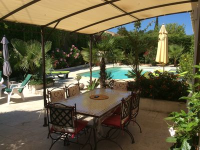 Photo for Provencal house with private pool, Gulf of Saint-Tropez, 6 people