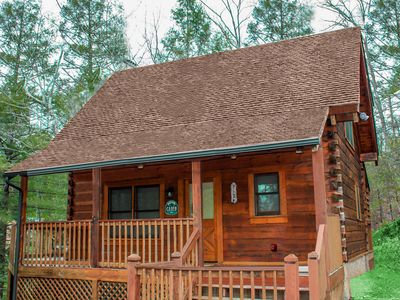 Photo for Enjoy the benefits of location. Luxury Cabin!  Great Value & Prices *WiFi *HBO