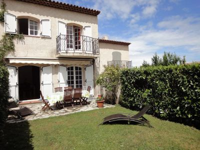 Photo for Large family sized two storey villa in charming gated complex with pools