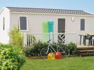 Photo for Comfortable mobile home on a nice quiet holiday park with many facilities