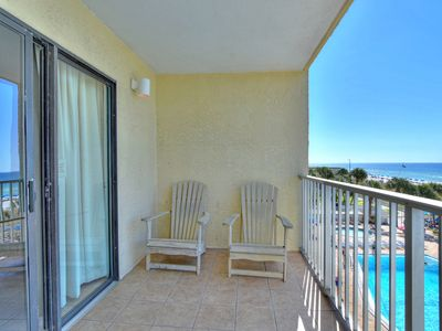 Photo for Enjoy the Gulf view,  4th floor - 1 bedroom condo