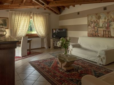 Photo for Villa Cristina with Swimming Pool - Lake Iseo - Franciacorta - Families - Golf - Lake